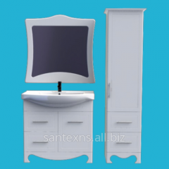 Furniture for a bathroom the Ionics