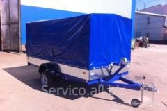 Tentovanny semi-trailer