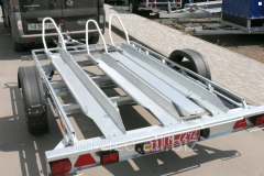 Trailers for transportation of boats, boats, boats