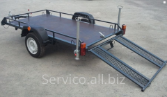 Automobile trailer