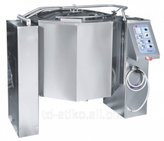 KPEM-160-OM electric food kettle with the mixer