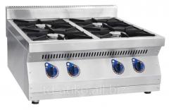 Gas stove chetyrekhgorelochny desktop PGK-47N