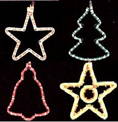 Stars New Year's designs from a dyuralayt, a