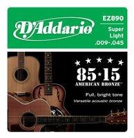 Strings of D#39-Addario EZ-890 Super Ligh