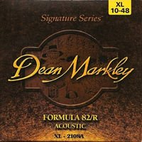 Strings of Dean Markley 2108 12 of strings