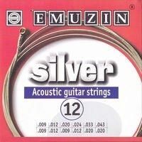 Strings of Emuzin Silver of 12 strings