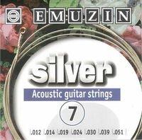 Strings of Emuzin Silver of 7 strings