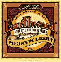 Strings of Ernie Ball Earthwood