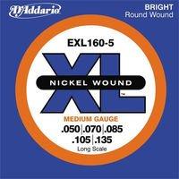 Strings of D#39-Addario Nickel of 5 strings