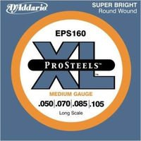 Strings of D#39-Addario ProSteel Bass EPS 160