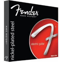 Strings of Fender Electric Bass