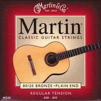 Strings of Martin 80/20 Bronze Regular Tension