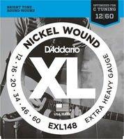 Strings of D#39-Addario Nickel EXL148 (12-60)