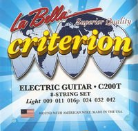 Strings of La Bella Criterion C200T