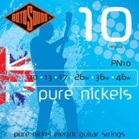 Strings of Rotosound PN10 Strings Nickel