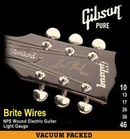 Strings of the String of Gibson Brite Wires