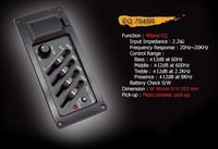 Band equalizer for the Belcat EQ-7545R-4