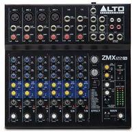 Mixer Alto ZMX122FX panel