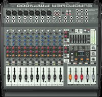 Mixer Behringer PMP4000 panel