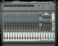 Mixer Behringer PMP6000 panel