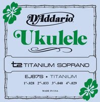 Strings for the ukulel of a soprano of