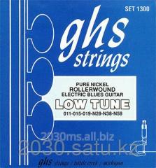Strings of GHS Set 1300 Roller wound Nikel