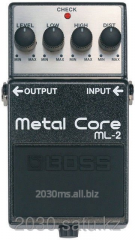 Pedal of effects of Boss ML-2 Metal Core
