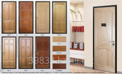 Door, decorative finishing by panels from PS-1