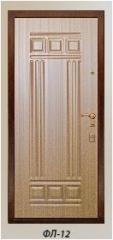 The panel the milled FL-12 laminated by 10,16 mm