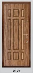 The panel the milled FL-29 laminated by 6, 10, 16