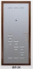 The panel the milled FL-34 laminated by 6, 10, 16