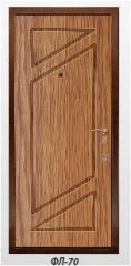 The panel the milled FL-70 laminated by 6, 10, 16