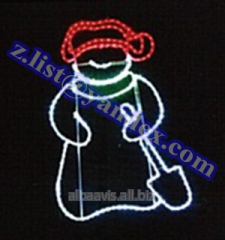 Snowman, New Year's designs from a dyuralayt,