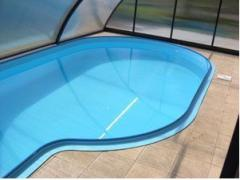 Bowls of pools from polypropylene, Pools from