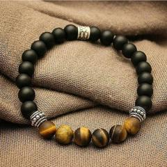 Bracelets from natural stones, and under natural