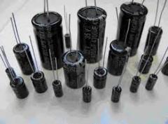The condenser of 63 V - 220 microfarad, 10х17 mm