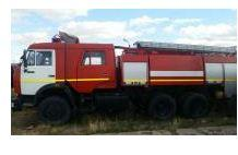 Fire tanker of KAMAZ-65115-97