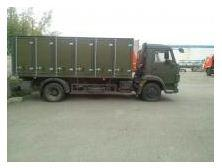 Insulated van body of KAMAZ-4308-3015-99