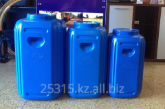 Food plastic barrels of 60 l