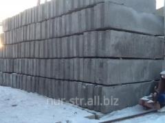 Шлакобетонные блоки ШБС