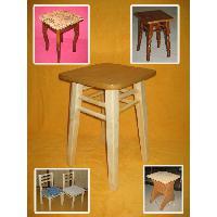 Buy a padded stool