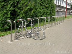 Cycle parkings from stainless steel