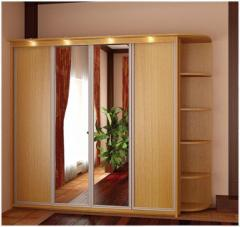 Accessories to sliding wardrobes