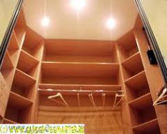 Шкафы гардеробные на заказ
