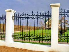 Кованые заборы и ограды