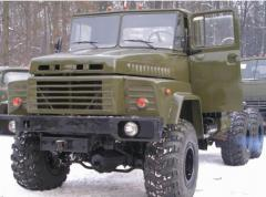 Kraz 260th trawl of 60 t. 1993, Trawls motor