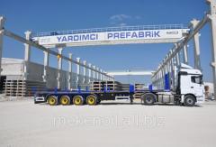Platforms cargo - trailers