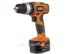 The cordless hammer drill AEG BSB 12G NC - 142C