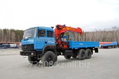 Бортовой автомобиль Урал 4320-82М с КМУ ИТ-180