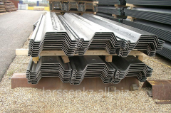 Tongue-and-groove piles of the Z AZ 18 profile